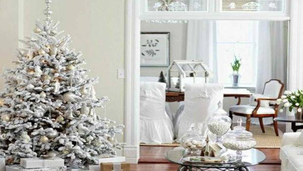 Classic Christmas Tree Decorating Ideas White Theme