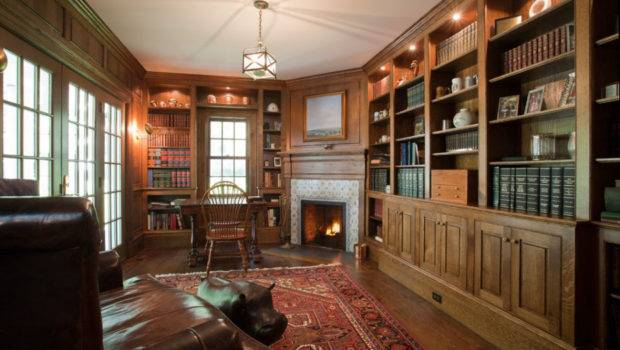 Classic Home Library Design Ideas