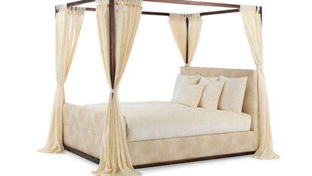 Classic Upholstery Beds Athena Bed Iron Canopy