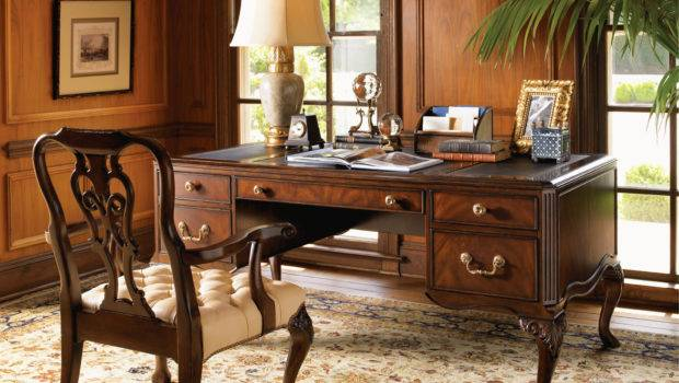 Classical Luxury Home Office Interior Design Inspiration