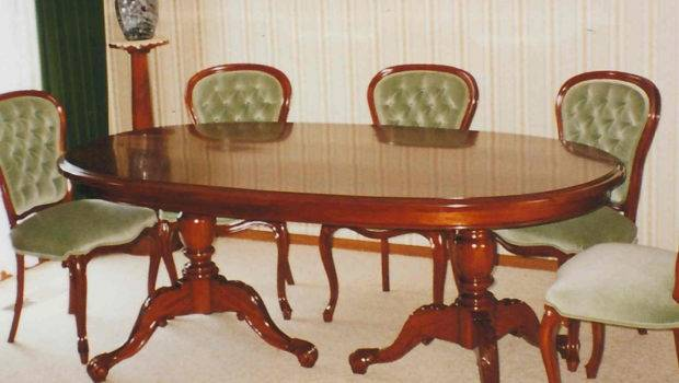 Classical Victorian Style Dining Table Timeless Interior