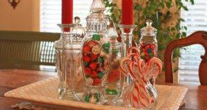 Classy Elegant Christmas Dining Room Decorations