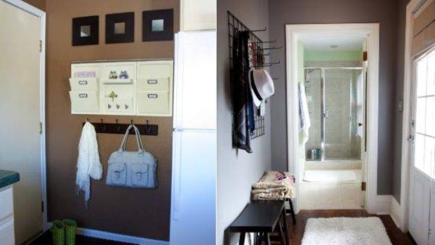 Clever Storage Solutions Well Organized Hallway