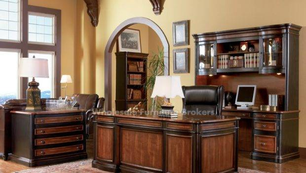 Coaster Grand Style Home Office Furniture Set Gowfb