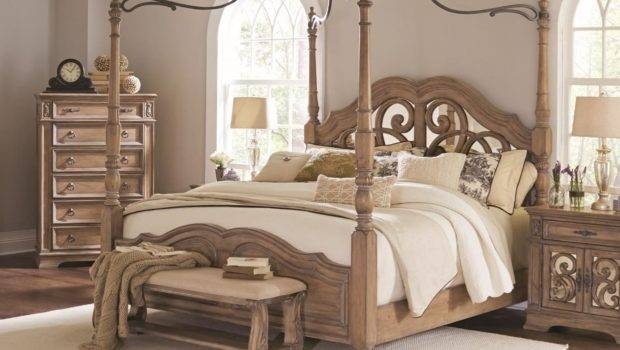 Coaster Ilana Queen Canopy Bed Northeast Factory