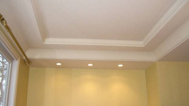 Coffered Ceilings Fireplace Design