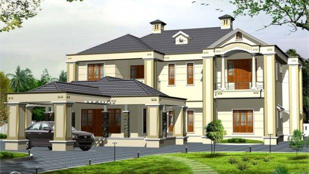 Colonial Style Bedroom Victorian House Kerala Home Design