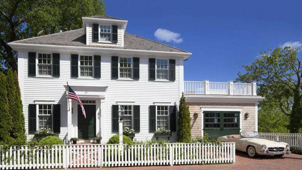 Colonial Style House Exuding Calmness Patrick Ahearn Architect
