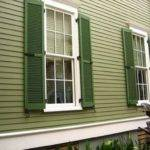 Colonial Victorian Homes Green Exterior House Paint
