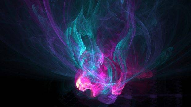 Color Effect Here Can Abstract Fire
