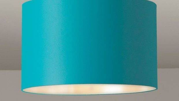 Colored Drum Shade Ceiling Light Lamp Shades