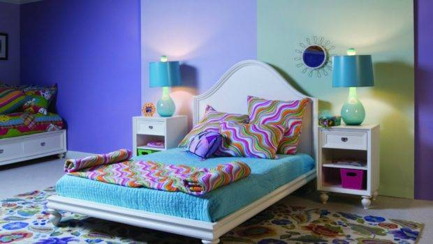 Colorful Bedroom Interior Design High