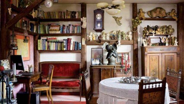 Colorful Fairy Tale House Vintage Furniture Digsdigs