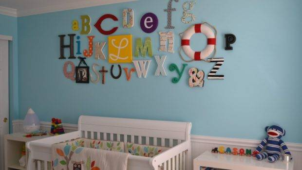 Colorful Gender Neutral Nursery Project