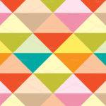 Colorful Geometric Pattern Set Colored