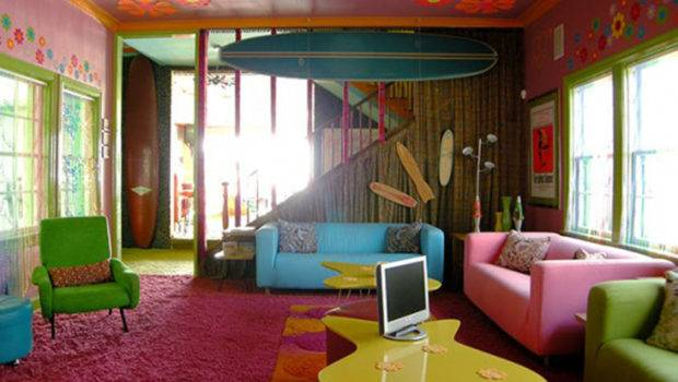 Colorful Living Room Interior Design One Total Photographs Multi