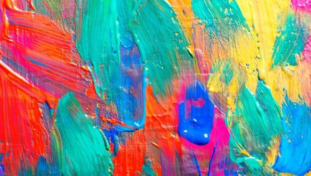 Colorful Paint Textures Wallpaperhdc