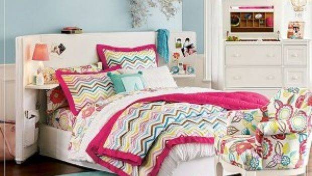 Colorful Teenage Girl Bedroom Ideas Design