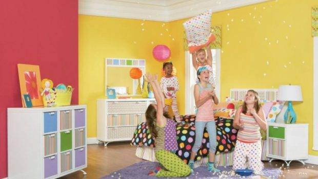 Colorful Teenage Girl Bedroom Ideas Designs