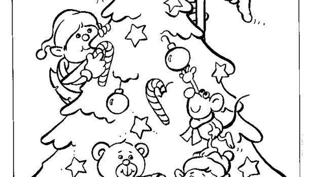 Coloring Pages Christmas Elf