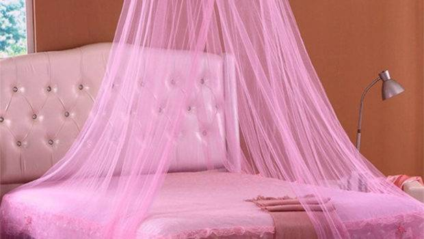 Colors Lace Hanging Bedding Mosquito Dome Princess
