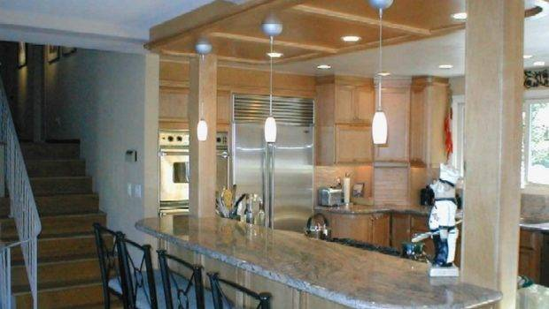 Columns Kitchen Island Reno Pinterest