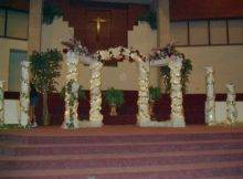 Columns Wedding Decorations Romantic Decoration