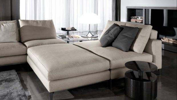 Comfortable Sofa Bed Design Modern Living Room Concept