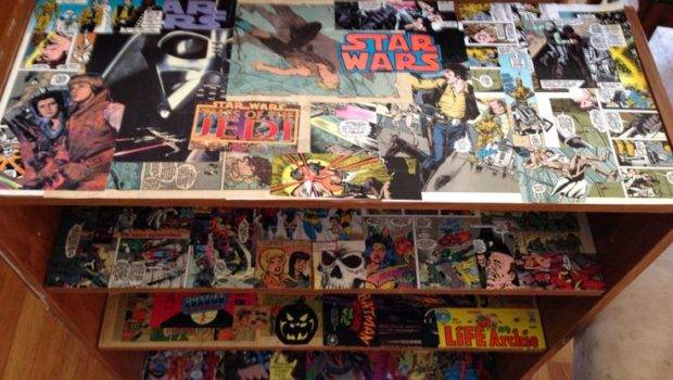 Comic Book Shelf Core Display Ideas Pinterest
