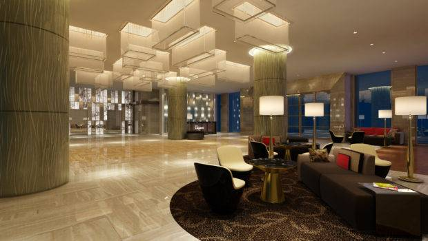 Comments Modern Hotel Lobby Model Luxury Architectural