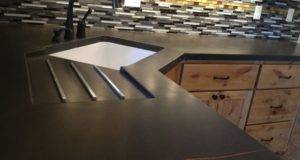 Concrete Kitchen Countertops Denver Greyrock Design