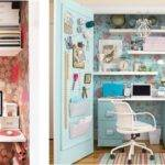 Consign Organization Tip Transform Closet Into Home Office