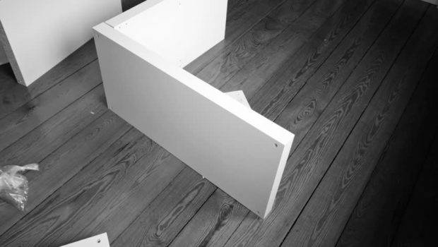 Constructing Self Assembly Furniture Time Lapse Footage Video