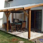 Construction Timber Patio Roof Garden House Wood Shop