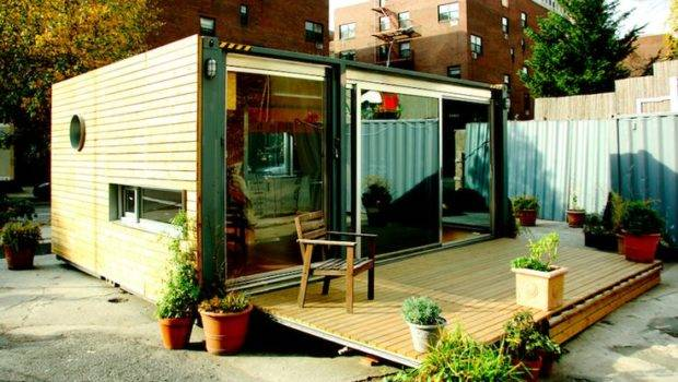 Container Architecture Cargotecture Nyc Small Home