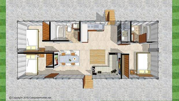 Container Home Floor Plans Homes Cargo