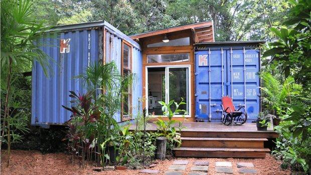 Container Home Studio Julio Garcia Small House Bliss