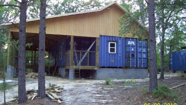 Container House Floor Plan Home Shown