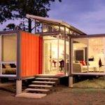 Container House Shipping Home Foot