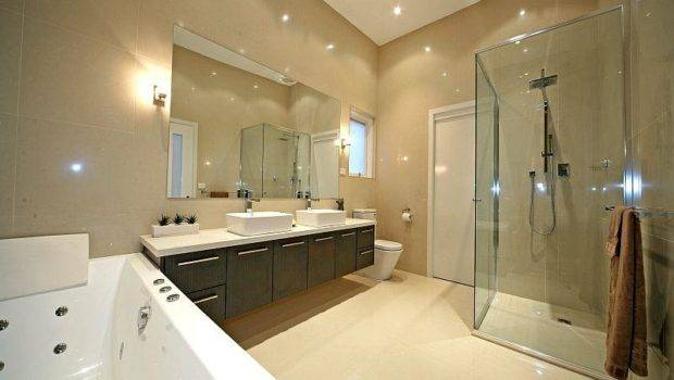 Contemporary Brilliance Residence House Modern Bathroom Spa