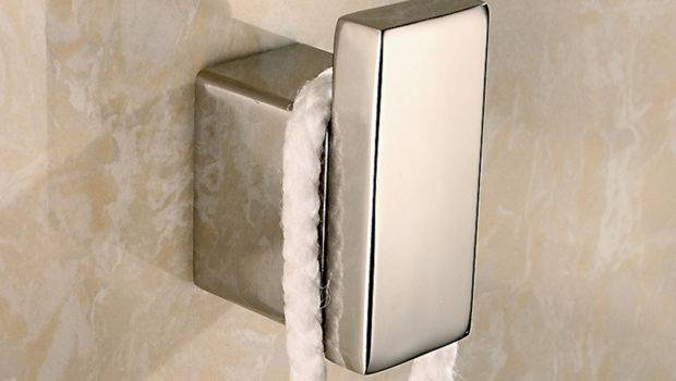 Contemporary Deluxe Stainless Steel Wall Mount Towel Robe Hook