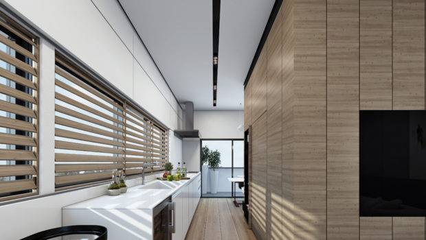 Contemporary Home Visualizations Sleek Sophistication
