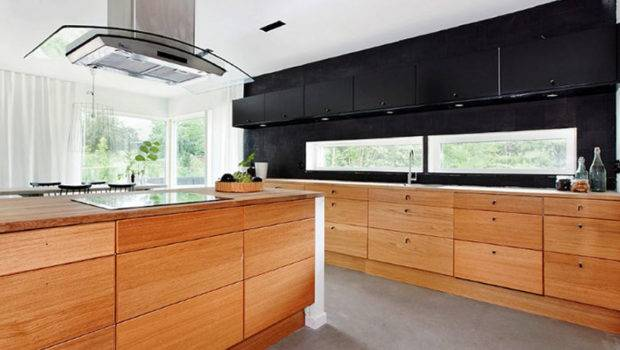 Contemporary Kitchen Design Ideas Wooden Cabinets