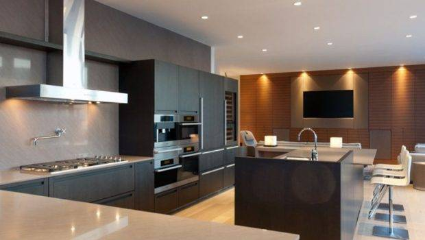 Contemporary Kitchen Interiors Elegance Styles