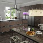 Contemporary Kitchen Rustic Design Toyo Digsdigs
