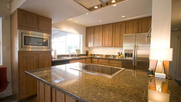 Contemporary Mccormick Ranch Home Kitchen Granite Countertops Ideas