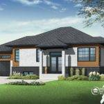 Contemporary Modern Home Dhp Archives Drummond House Plans Blog