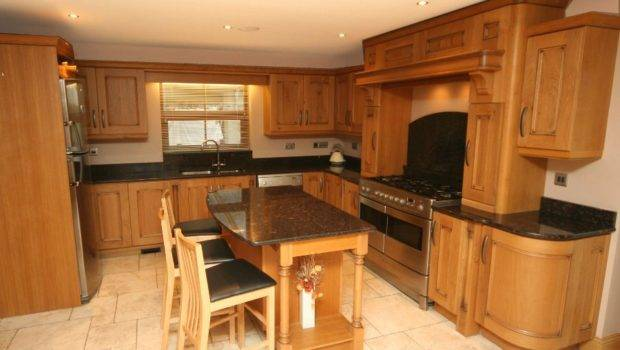 Contemporary Oak Inishowen Donegal Chef Kitchen
