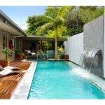 Contemporary Pool Design Eileen Designs Offers Landscaping