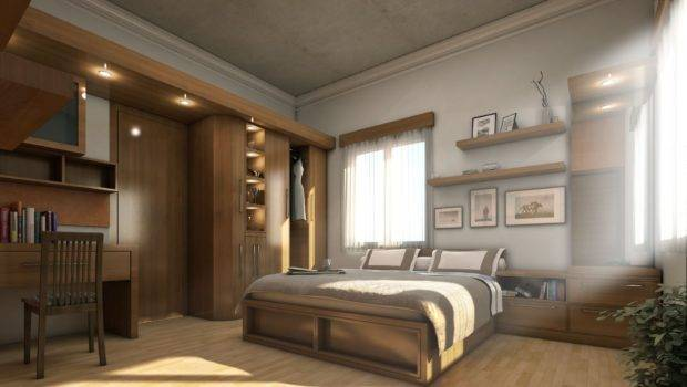 Contemporary Rustic Bedroom Design Via Home Designing